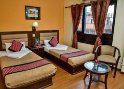 Hotel Namtso - Kathmandu - Slaapkamer