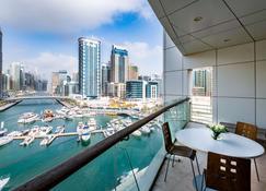 Jannah Marina Hotel Apartments - Dubai - Balcony