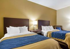 Comfort Inn - Clarksville - Bedroom
