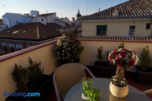 Thc Tirso Molina Hostel - Madrid - Ban công