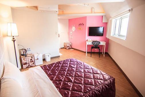 Moon Lake Hotel - Taichung - Bedroom