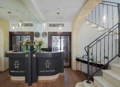 Hotel San Miguel - Mahón - Recepção