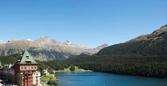 Badrutt's Palace Hotel - Sankt Moritz - Näkymät ulkona