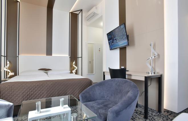 瑪霍瓦酒店 - 布拉格 - 布拉格 - 臥室