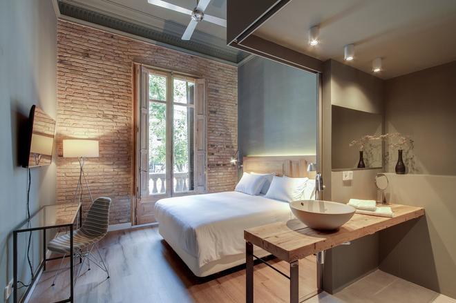 普林西帕爾住宿加早餐旅館 - 巴塞隆納 - 臥室