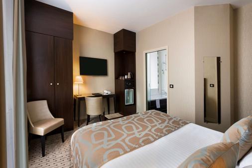 勒黎塞留最佳西方酒店 - 里摩 - 里摩日 - 臥室