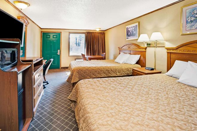 Knights Inn Detroit Area / Sterling Heights - Sterling Heights - Schlafzimmer