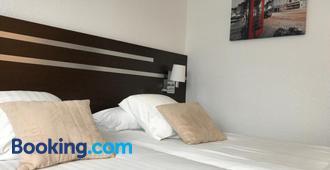 ホテル シャンテレイヌ - シェルブール - 寝室