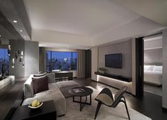New World Makati Hotel - Makati - Wohnzimmer