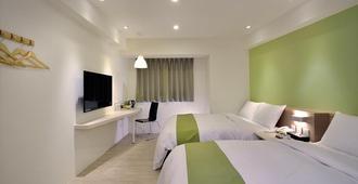 Green Hotel-Fengjia - Đài Trung - Phòng ngủ