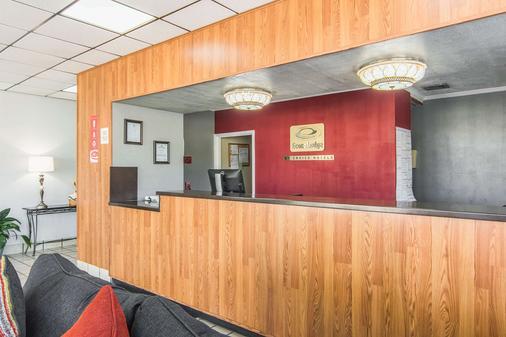 Econo Lodge - Fort Payne - Front desk
