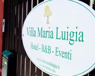 Villa Maria Luigia - Frascati