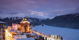 Badrutt's Palace Hotel - Sankt Moritz - Außenansicht