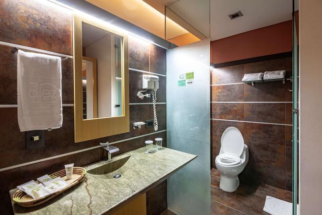Diez Hotel Categoria Colombia - Medellín - Baño