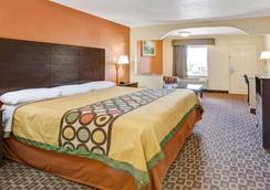 Super 8 by Wyndham Baytown/Mont Belvieu - Baytown - Bedroom