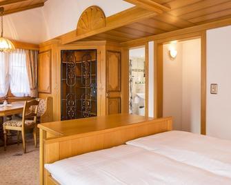 Hotel Olympia - Saas-Almagell - Ložnice