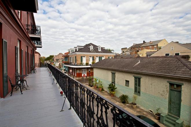Le Richelieu in the French Quarter - New Orleans - Balcony