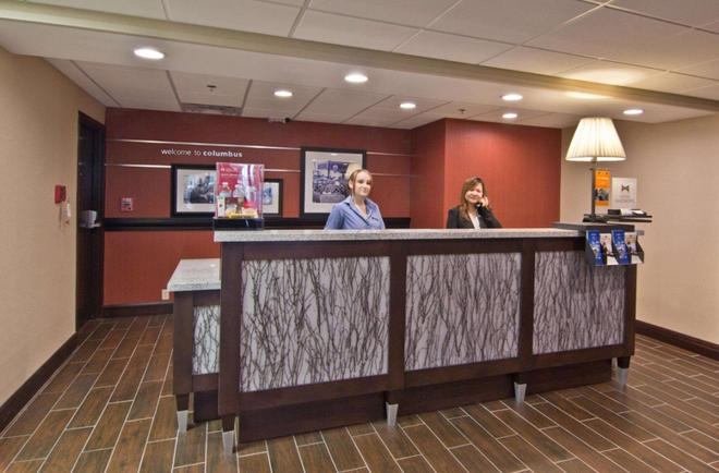 Hampton Inn Columbus-South - Grove City - Front desk