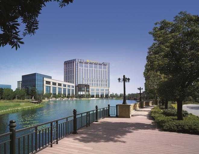 Shangri-la Hotel, Changzhou - Changzhou - Rakennus