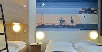 B&B Hotel Hamburg-Altona - המבורג - חדר שינה