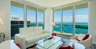 Private Residences At Hotel Arya By Sofla Vacations - Miami - Living room