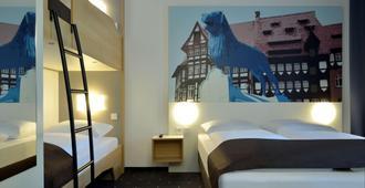 B&B Hotel Braunschweig-City - Braunschweig - Bedroom