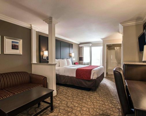 Comfort Suites San Clemente Beach - San Clemente - Bedroom