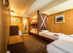 The Hostel - טטון וילאג' - חדר שינה