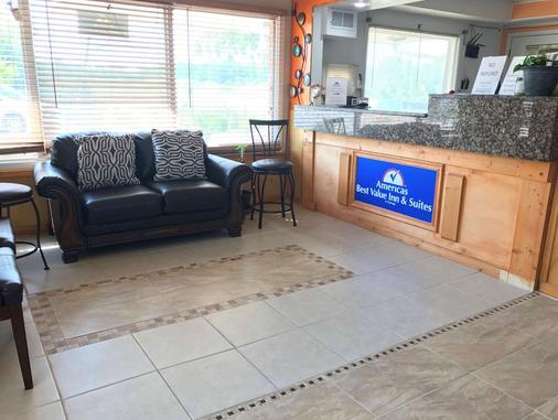 Americas Best Value Inn & Suites Macon at Sunset Dr - Macon - Rezeption