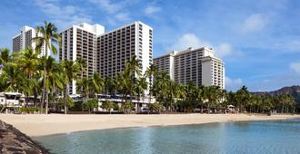 Waikiki Beach Marriott Resort & Spa - Honolulu - Edifício