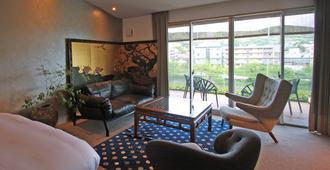 Aoi Hotel Kyoto - Quioto - Sala de estar