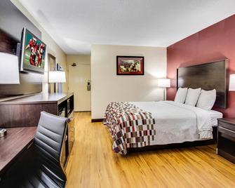Red Roof Inn Forsyth - Forsyth - Schlafzimmer