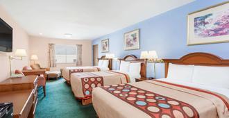格林斯伯勒速 8 酒店 - 格林斯波羅 - 格林斯伯勒(北卡羅來納州) - 臥室