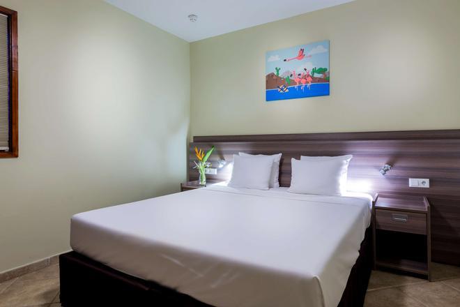 庫拉索島獅子潛水和海灘渡假村酒店 - 威廉斯塔德 - 威廉斯塔德 - 臥室