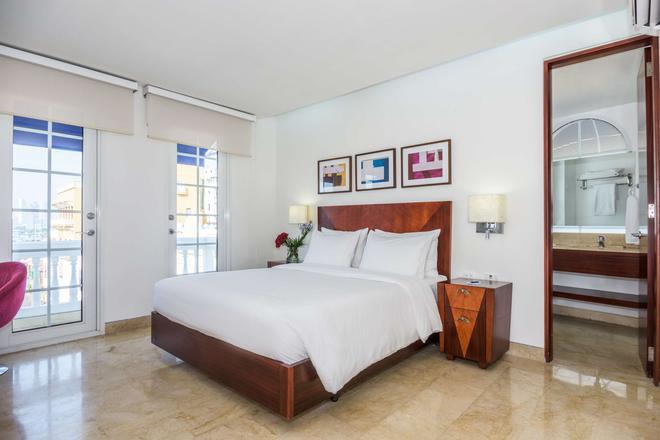 NH 卡塔赫納市皇家酒店 - 喀他基那 - 卡塔赫納 - 臥室