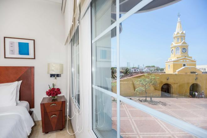 NH 卡塔赫納市皇家酒店 - 喀他基那 - 卡塔赫納 - 陽台