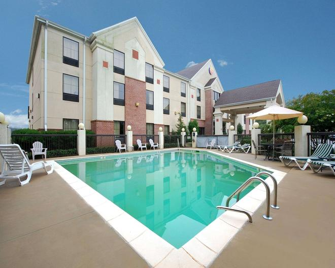 Comfort Inn and Suites at I-85 - Spartanburg - Pool