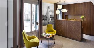 Best Western Plus 61 Paris Nation Hotel - París - Recepción