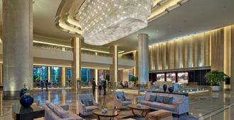 Shangri-La Hotel Tianjin - Tientsin - Vestíbul