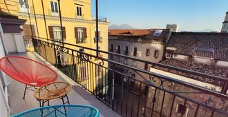 Tric Trac Hostel - Neapel - Balkon