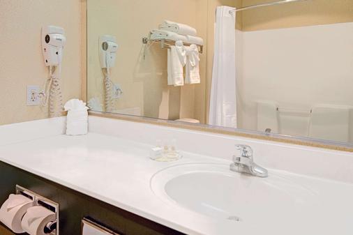 阿爾伯克爾基機場戴斯套房酒店 - 阿爾布奎克 - 阿爾伯克基 - 浴室