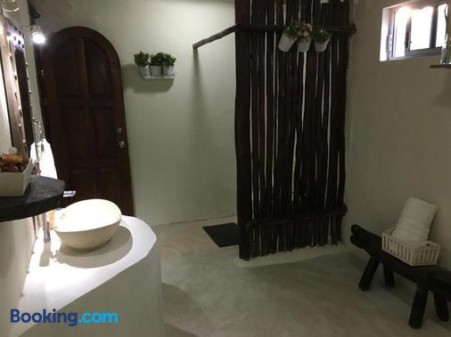 圖倫和諧格蘭品酒店 - 圖倫 - 圖盧姆 - 浴室