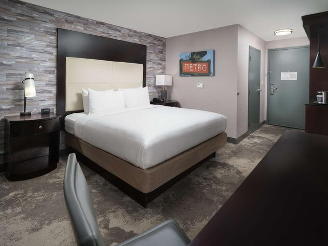 DoubleTree by Hilton Chattanooga - Chattanooga - Makuuhuone