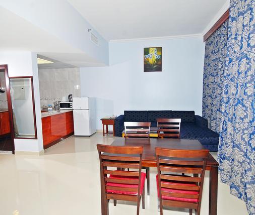 Ramee Rose Hotel Apartments - Abu Dhabi - Ruokailuhuone