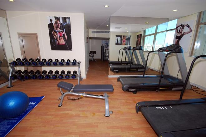 Ramee Rose Hotel Apartments - Abu Dabi - Gimnasio