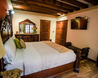 Puerta Al Virreinato Hotel Boutique - Tepotzotlán - Schlafzimmer
