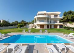 Amaltheia Villa - Asgourou - Pool
