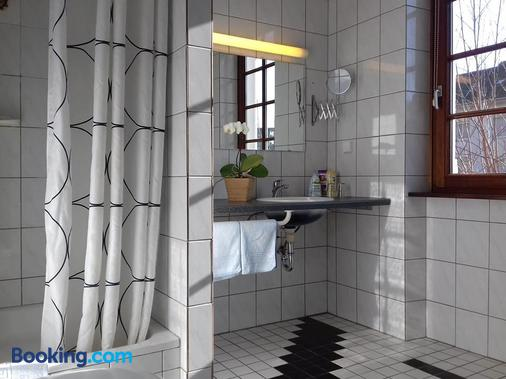 Badischer Hof - Mannheim - Bathroom