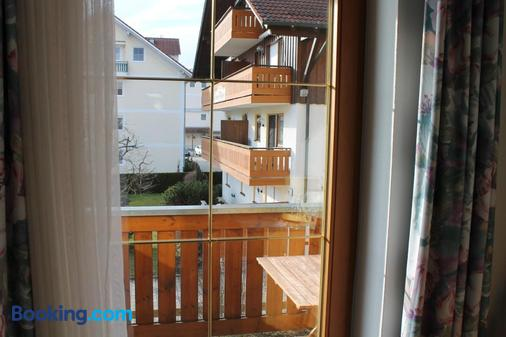 Hotel Garni Vogelsang - Bad Fuessing - Balcony