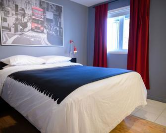 Hebert Hotel - Bécancour - Спальня
